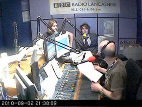 Me and Alan on Introducing BBC Radio Lancs