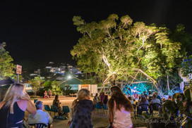 Jeremiah, Casey and the Porpoises light up outdoor community space!