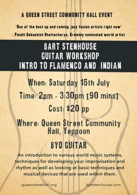 Guitar Workshop - Flamenco and Indian