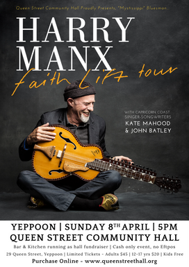 Harry Manx in Concert - 8 April 18
