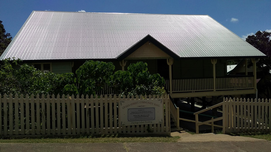 Queen Street Community Hall Yeppoon