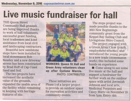 Mirror Article - Live music, outdoor space - fundraiser!