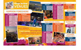 Village Festival 'Chai Lounge' Program