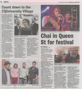 Chai Lounge - Mirror Article