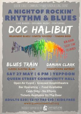 Sat 27 May - A Night of Rockin' Rhythm and Blues!!