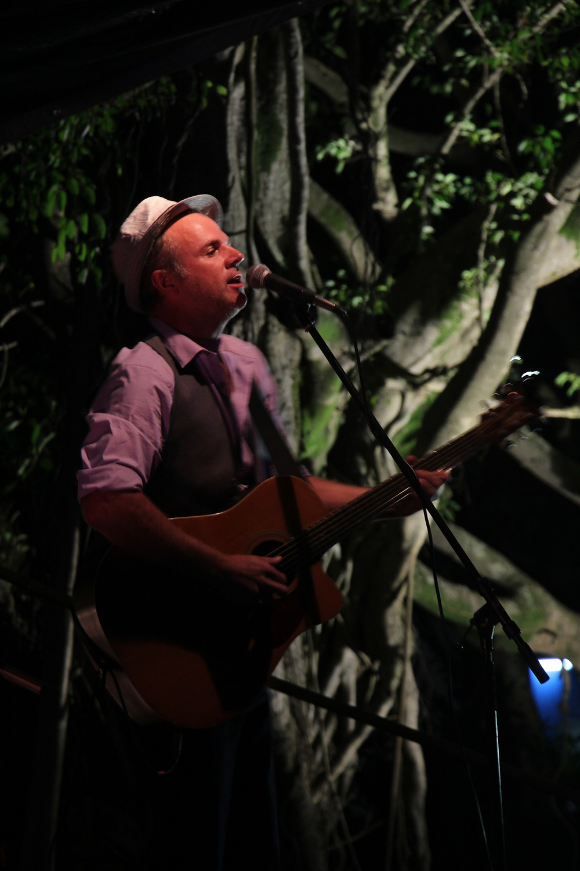Local guitar great -Damian Clarke