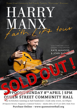 Harry Manx - SOLD OUT