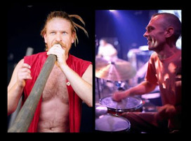 Wild Marmalade - live didgeridoo & drum Saturday 8 July 2017