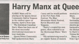 Last few days to buy Harry Manx tickets