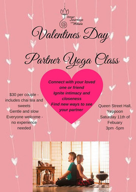 Valentine's Partner Yoga Class with Mikala