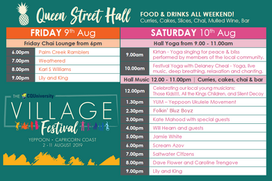 Chai Lounge - Village Festival Program