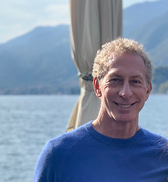 image of Dr. Gary Goldman in front of water