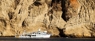 M/V Argo beside Isla San Benedicto.