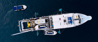 Drone view of Argo.