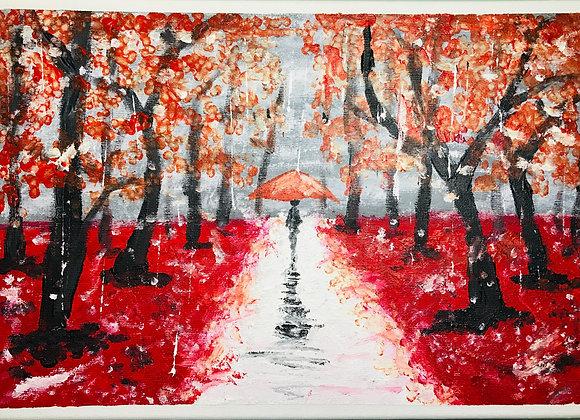 Fall Parade Oil Paint- Parade d'automnale Peinture à l'huile