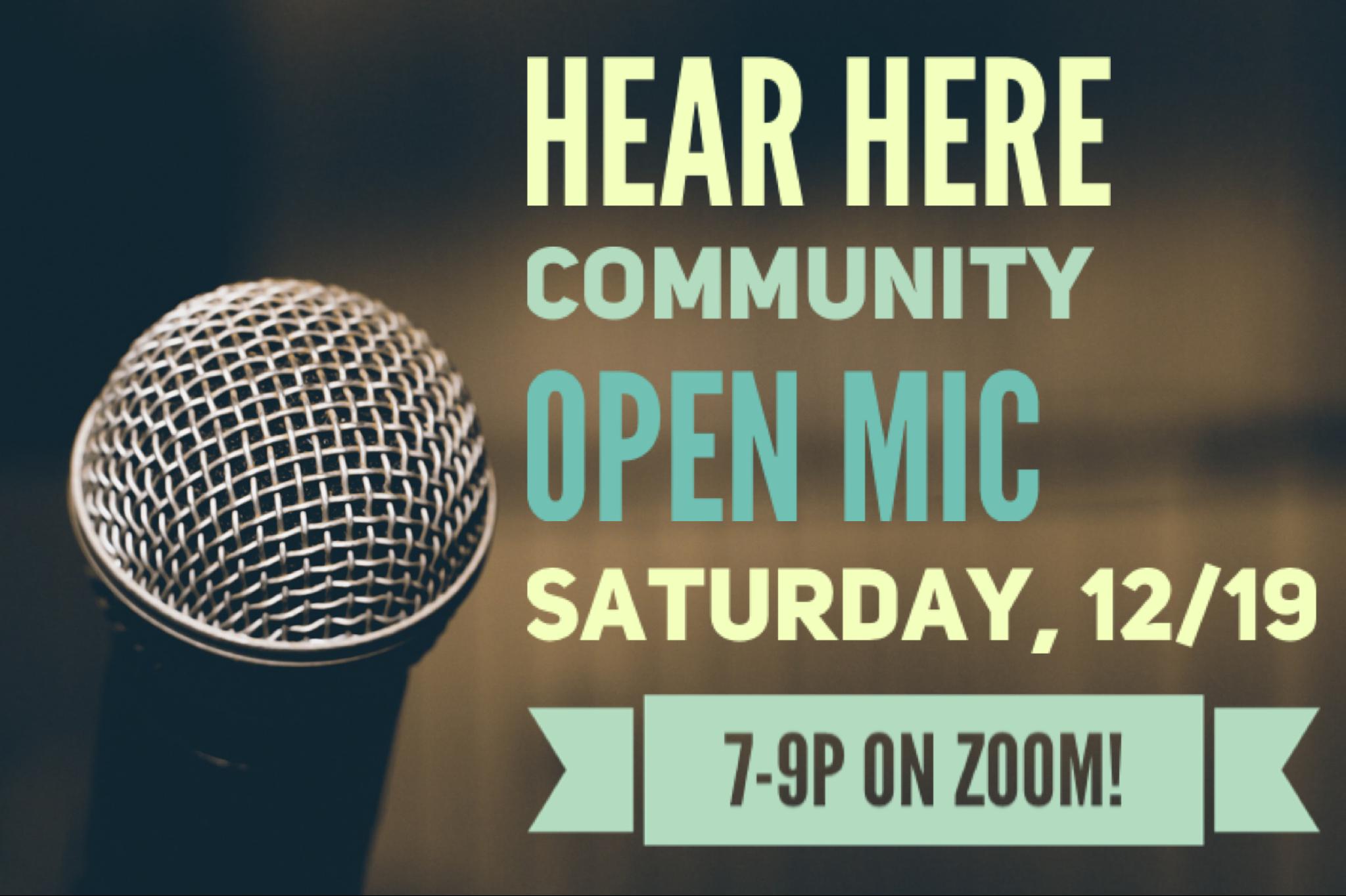 Open Mic 12/19