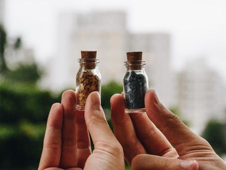 Glitter biodegradável: a transformação inicial!