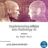 Implementing ethics into radiology AI