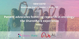 Patient advocates fostering research in oncology: the Share4Rare experience