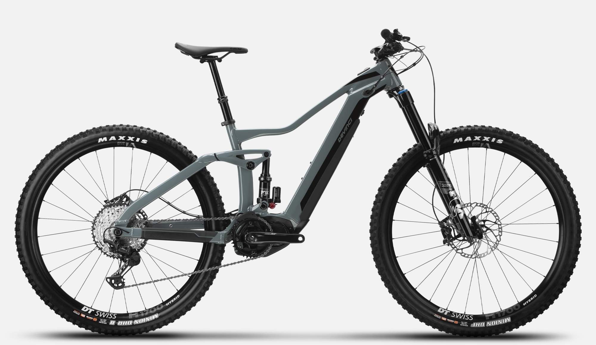 All Mountain E-bike DC XT 12s Charcoal