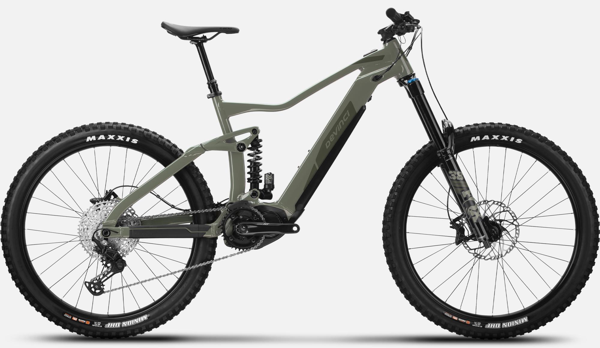 Enduro E-bike AC Deore 12s Khaki