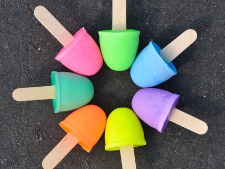 Sidewalk Chalk Pops