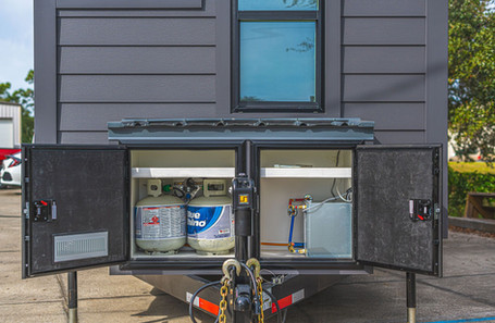 Front Storage Open