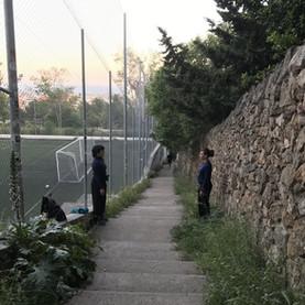 Standing-Parc Güell