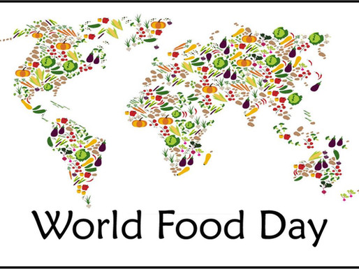 Celebrating World Food Day - reimagining food waste, keep it on your plate and out of the bin!