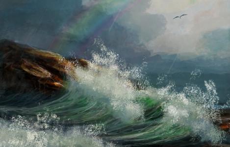 TNArtist-Brett-Tadlock-Storm-Rainbow-Cove-Acrylic-Oil-Paintings.jpg