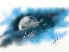 TNArtist-Brett-Tadlock-Moon-Birds-Acrylic-Oil-Paintings.jpg
