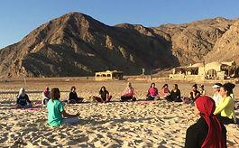 meditation retreats egypt masaraife