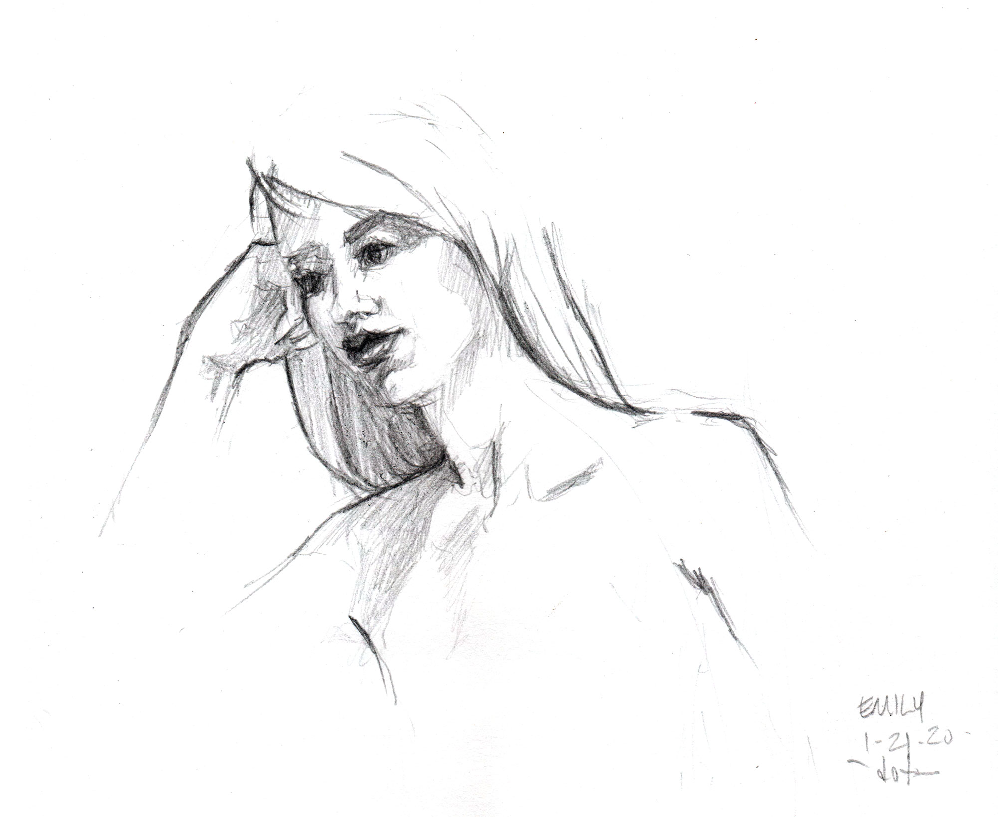 Life Drawing Emily
