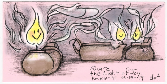 Candle 3, Share the Light of Joy 121519