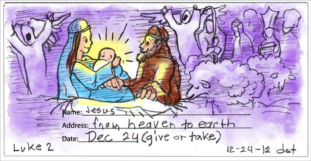 Jesus, from Heaven to Earth, 122419