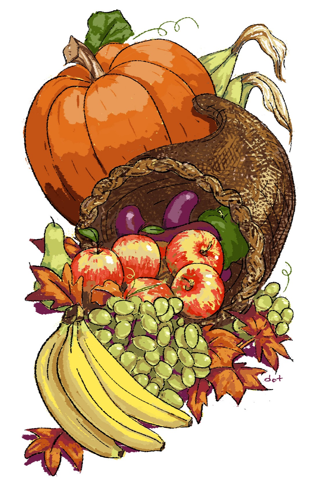 Cornucopia, Thanksgiving