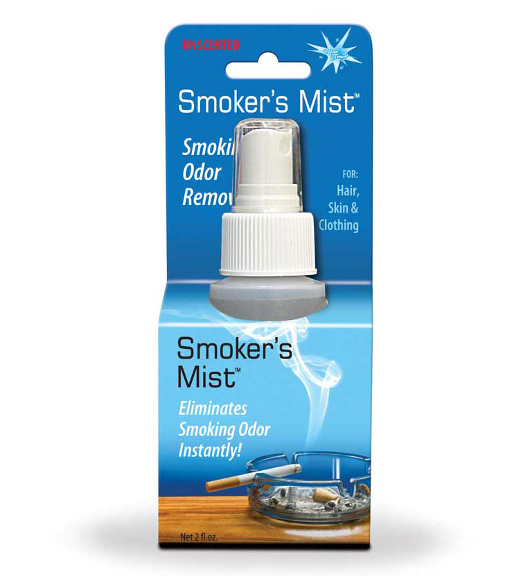 Clean Touch Smoker's Mist Packaging