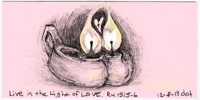 Candle 2, Live in the Light of Love, 120819