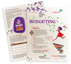 Girl Scout Budgeting, MidFirst
