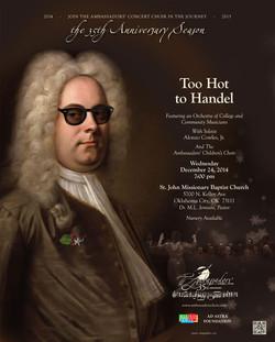 Handel Choral Poster