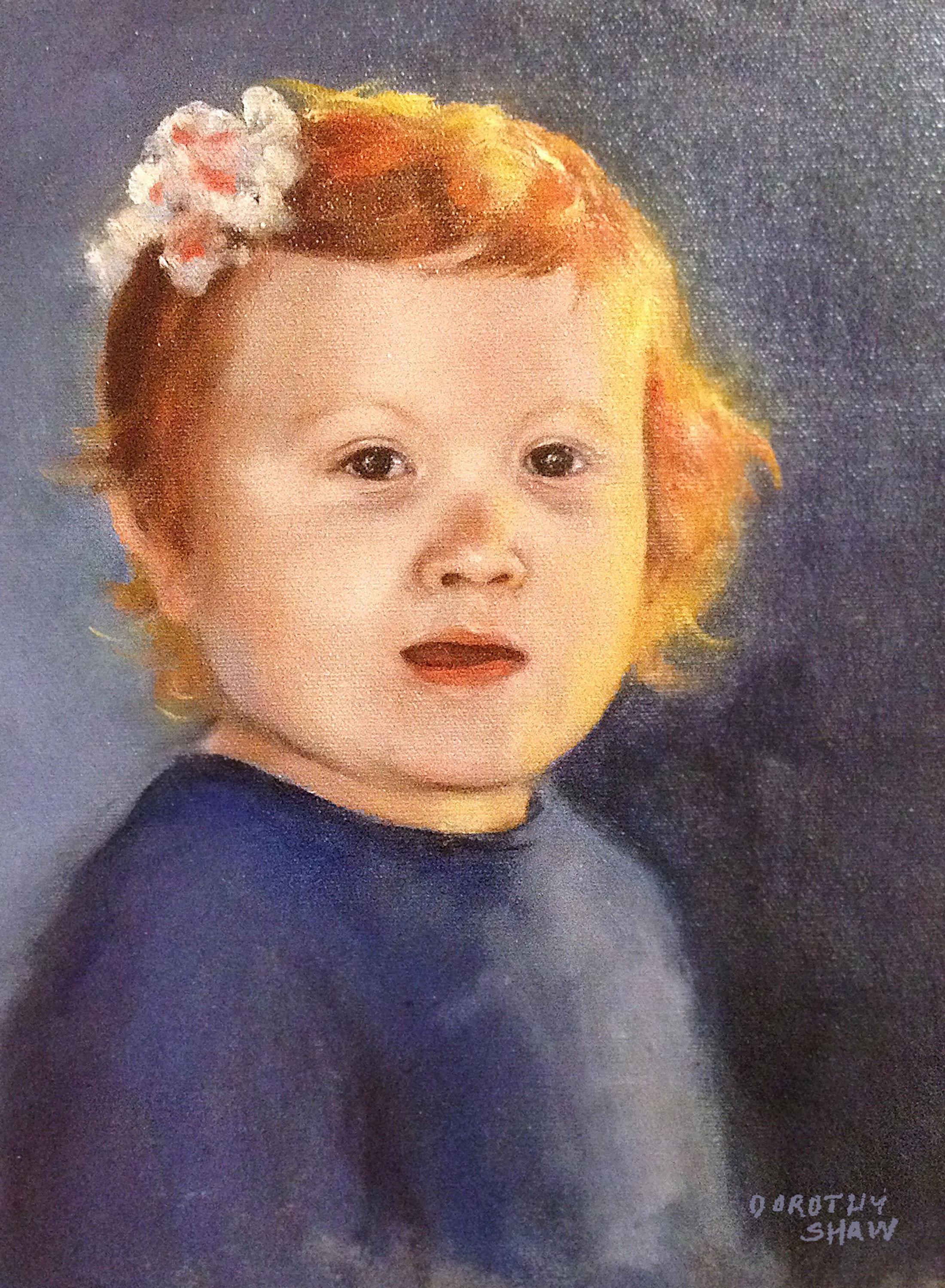 Katherine, Oil Painting