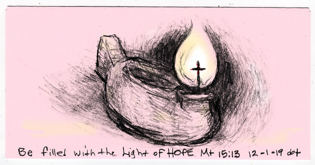 Candle 1, Be Filled with the Light of Hope 120119