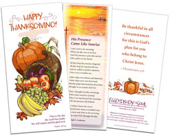 Thanksgiving Brochure, Messiah