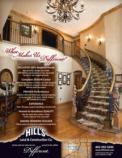 Hills Luxury Homes Ad