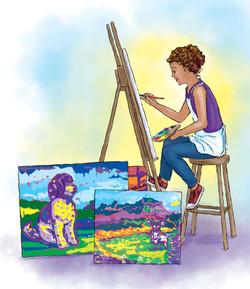 Sam Paints a New Life
