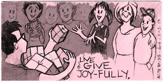 Live and Give With Joy 110319