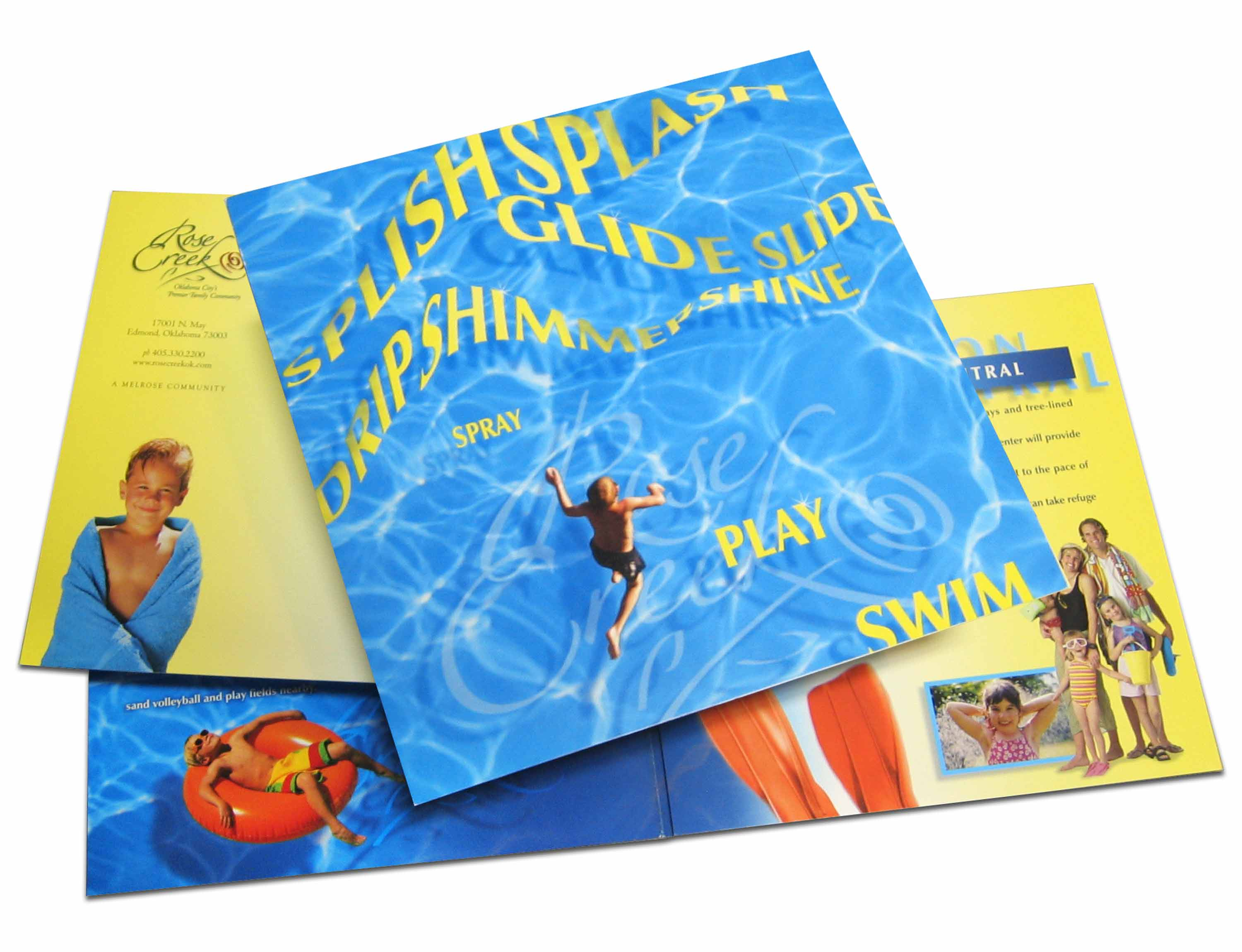 Splish Splash Rose Creek Direct Mail