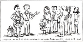 Invite a Friend to Church! 021620