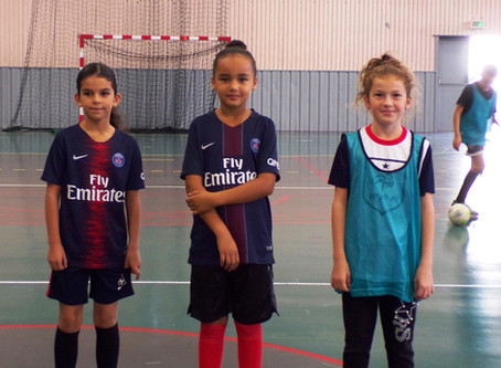 Futsal Féminin : nouvelles  générations