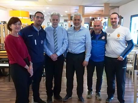 Futsal international : réunion de dirigeants